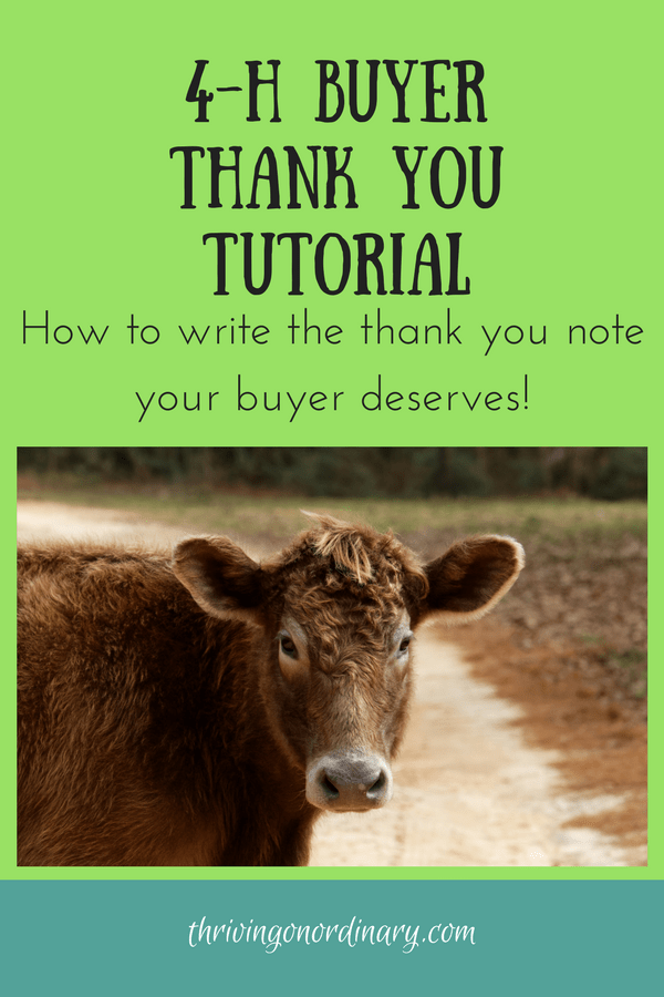 4-H-Buyer-Thank-You-Tutorial  Day Letter Template on final demand for payment, notice quit,
