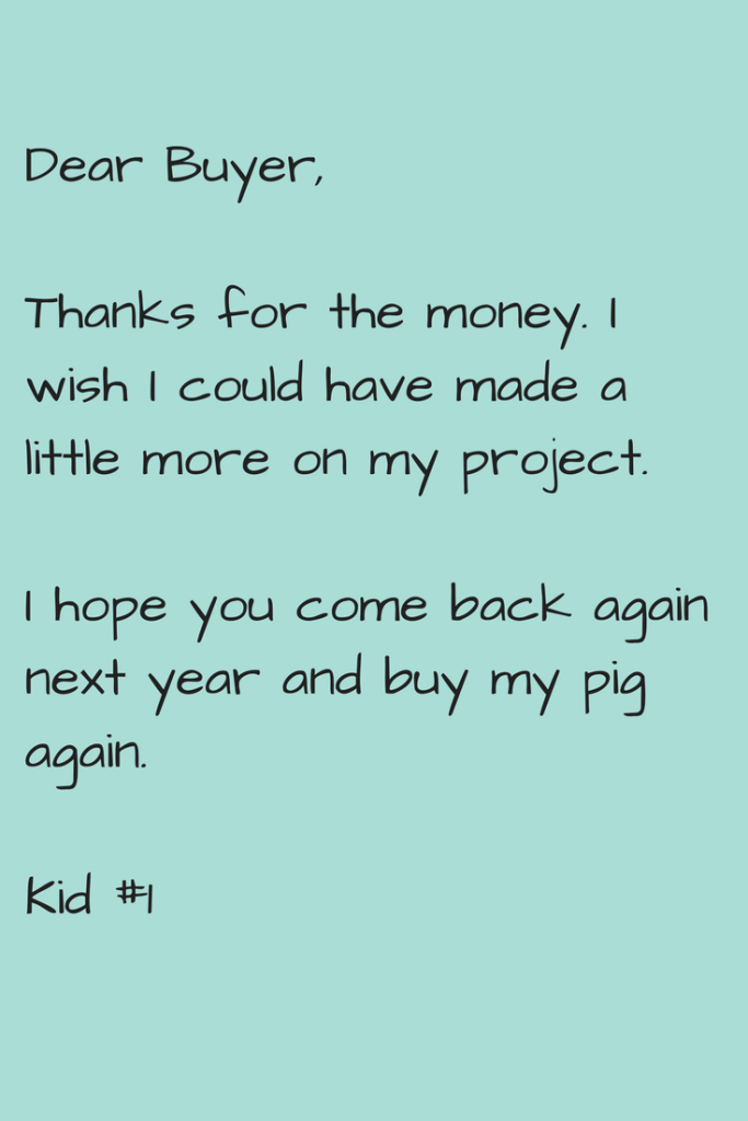 4-h buyer thank you tutorial