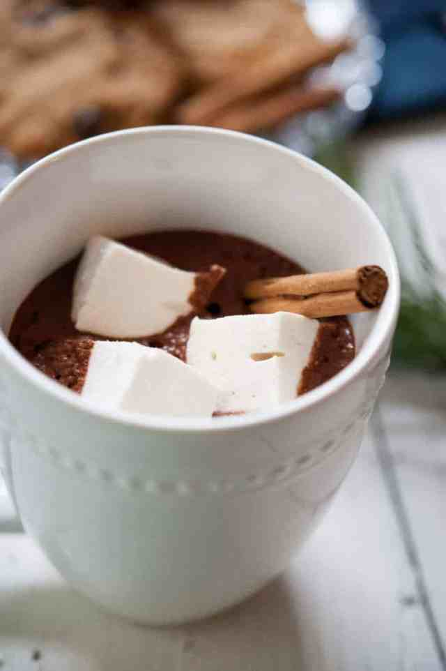Paleo Hot Chocolate by Thriving On Paleo