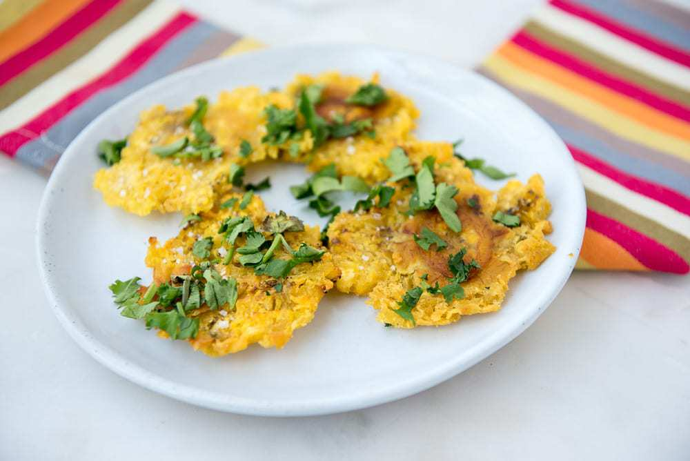 How to make Patacones (Tostones)