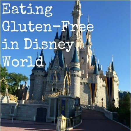 Eating gluten-free in Disney World
