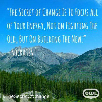 Transition emerges when we seek it