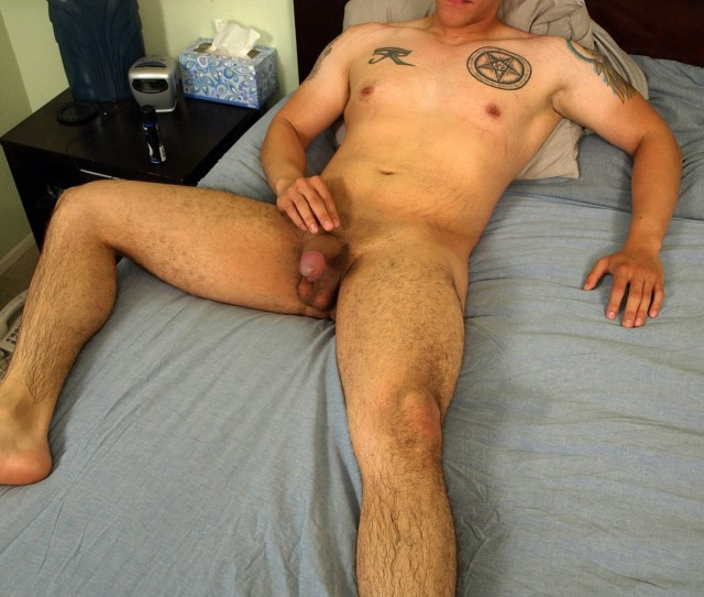 Latino Masturbating Gay Men