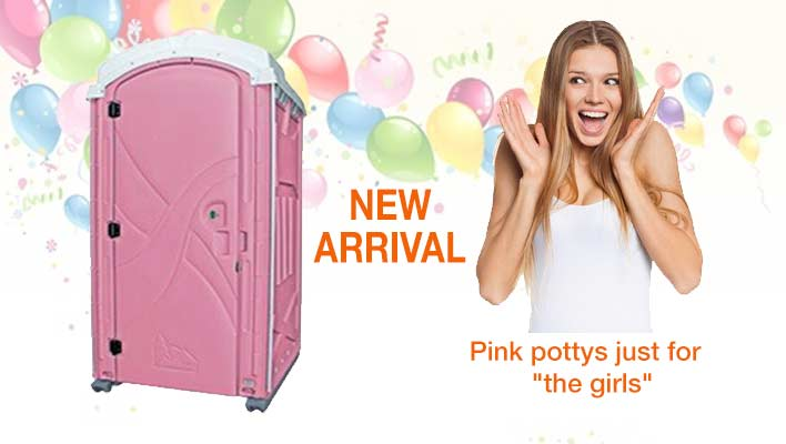 Pink Porta Potty for Women
