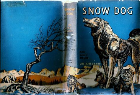 The Dustjacket From a First Edition Copy of Sow Dog by Jim Kjelgaard. Illustrated by Jacob Landau
