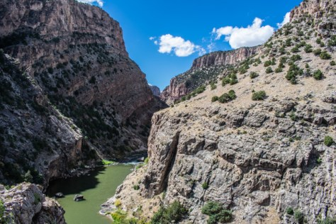 A Desolate Canyon On The Yampa River In Northwestern Colorado. Photograph By Michael Patrick McCarty