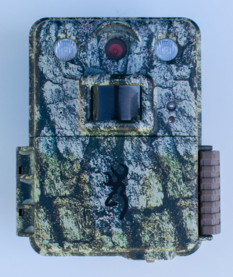The Browning Command Ops Pro Game Trail Camera. Photograph By Michael Patrick McCarty