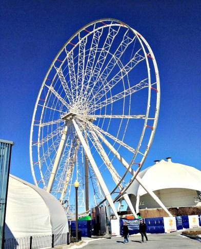 ferris wheel under construciton