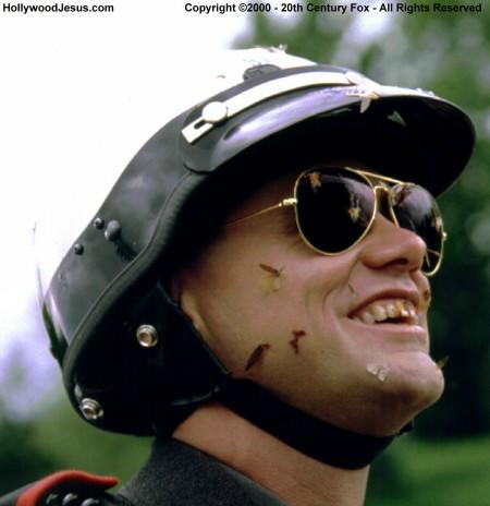 Scene from Dumb and Dumber..this is how I imagined I looked on the bike hah!
