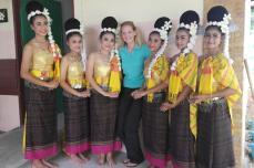 School Thai Dancers