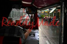 Tuk Tuking in the rain! :/