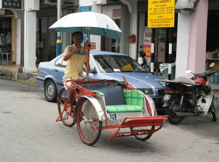 Local transport in Penang