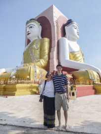 4 Buddha pagoda, Bago