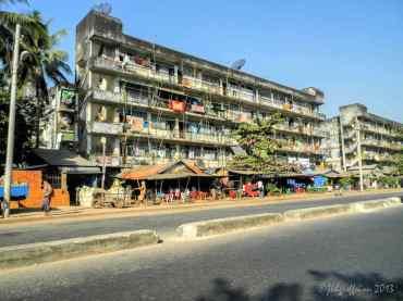 Insein apartment building