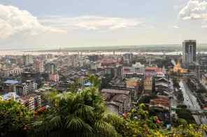 Downtown, Yangon
