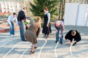 Creating the six circles