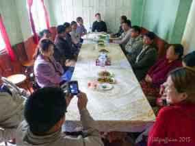 Eating together in Hakha