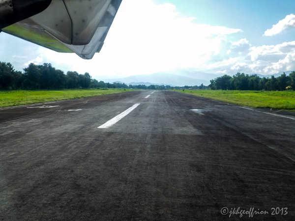 Landing in Kalay