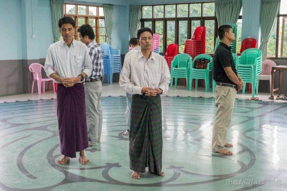 Center prayer