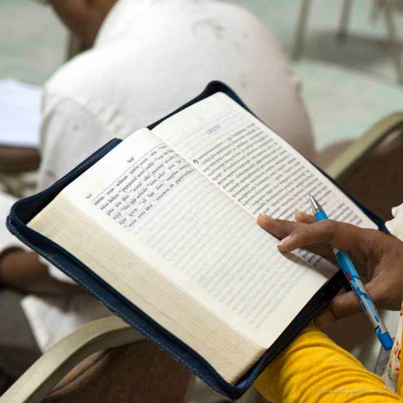 Studying vision in the Bible