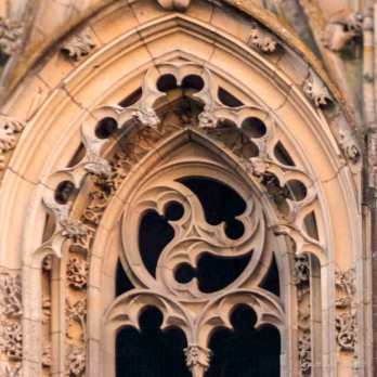 Circular detail, north tower