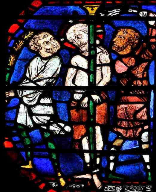 The flagellation of Jesus