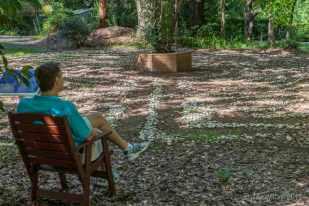 Reflecting at the labyrinth