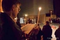The sharing of the Paschal light