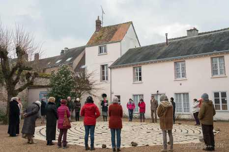 Labyrinth Walk at COACH, Chartres France
