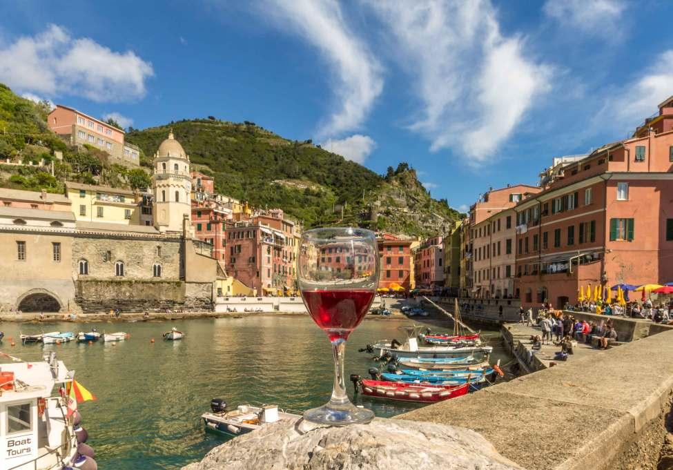 Wine time, Vernazza