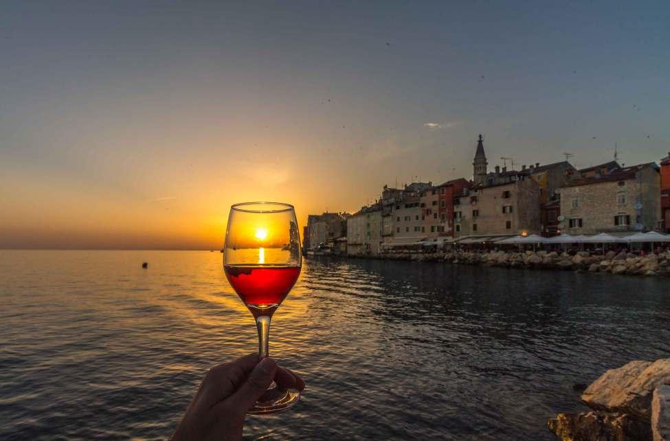 Wine & Sunset, Rovinj