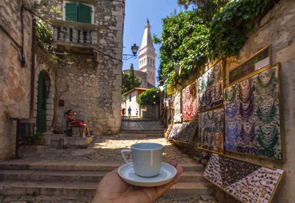 Coffee time, Rovinj