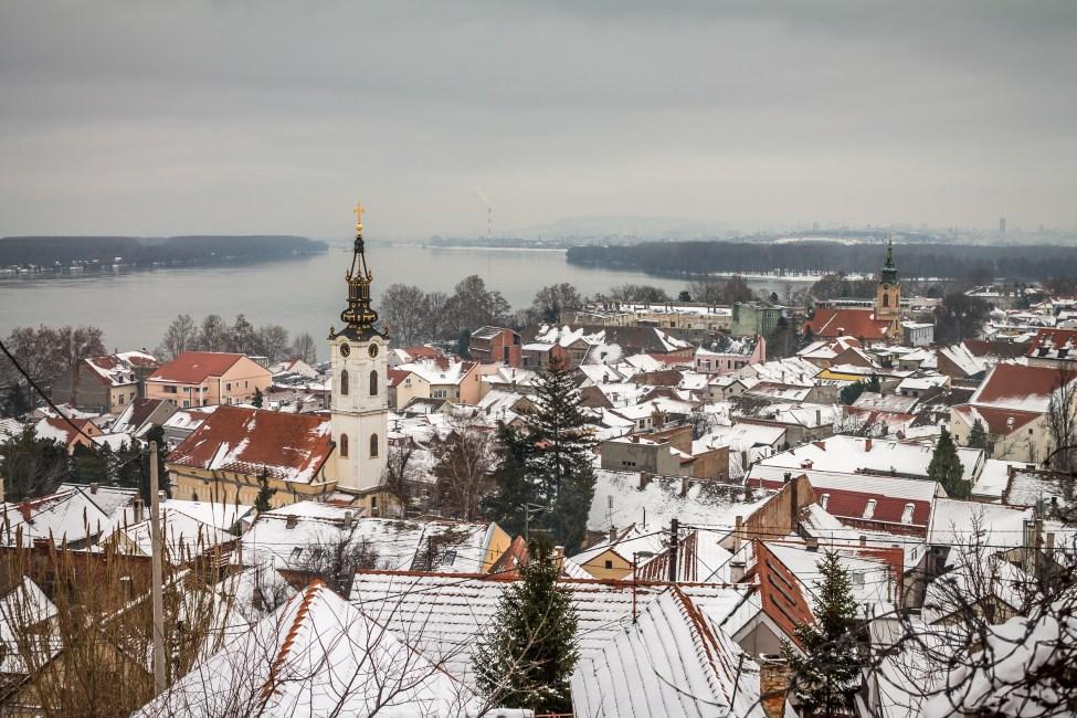 Zemun pod snegom