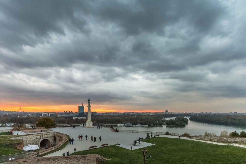 Amazing Sky above Belgrade
