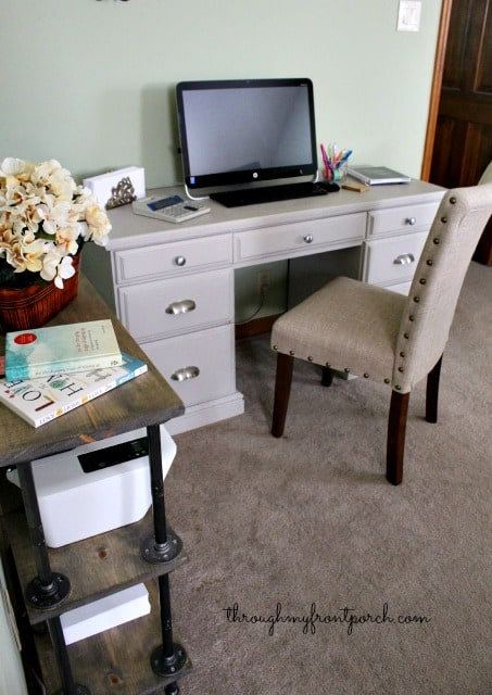 Desk Reveal Using Chalk Paint