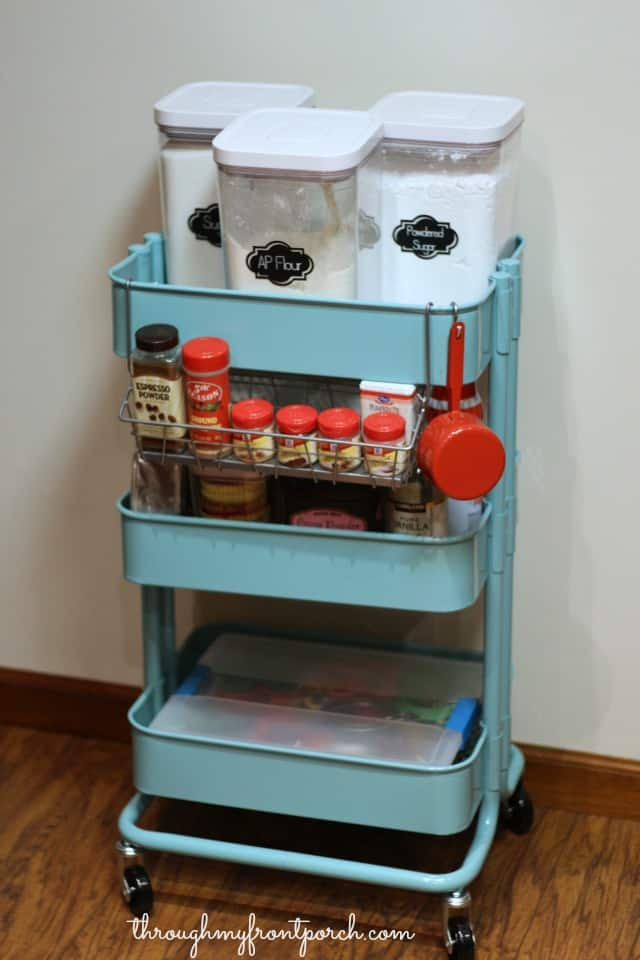 Create A Baking Cart