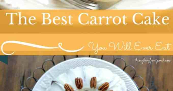 Simply The Best Carrot Cake You Will Ever Eat