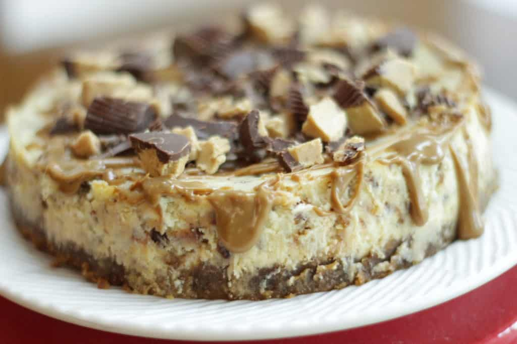Instant Pot Peanut Butter Cup Cheesecake