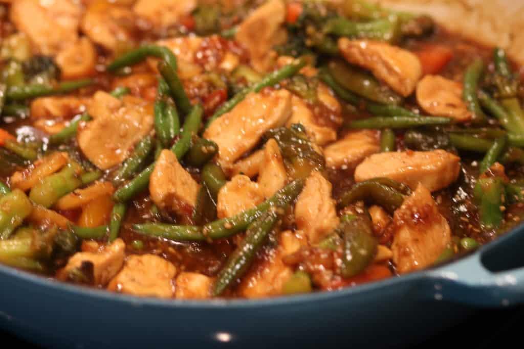30 Minute Teriyaki Chicken Stir Fry Ready to eat