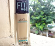 Maybelline Fit me! Matte+Poreless Foundation, 128 Warm Nude: Review