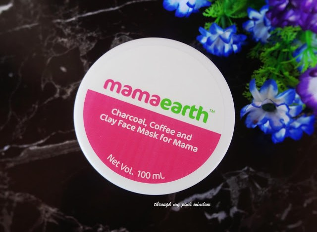 Review of Mamaearth C3 Charcoal, Coffee and Clay Face Mask for mama