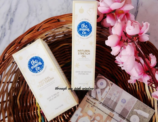 The Moms Co. Natural Stretch Oil and Natural Cooling foot Cream : Review