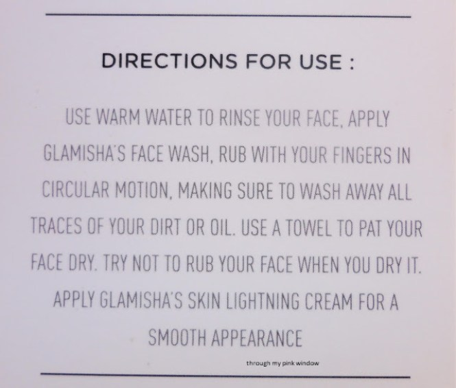 Glamisha Face Wash with Mulberry and Licorice extract : Review | Sulphate Free