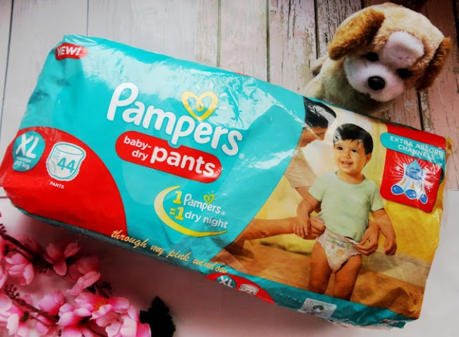 New Pampers Pant diapers : Review | #NextGenPamper