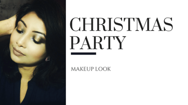 Christmas Party Makeup Look Step by Step Tutorial | Winterblogtrain