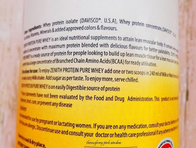 Zenith Nutrition Zenith Protein Pure Whey Protein