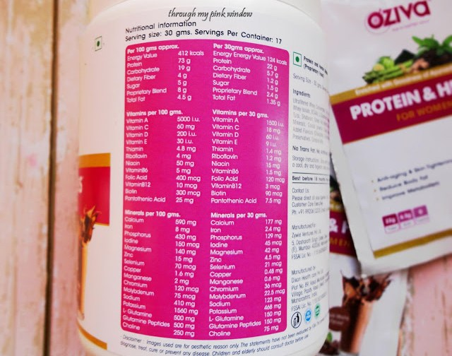 Take Your Weight Loss Resolution To a Next Level With OZiva Protein and Herbs For Women