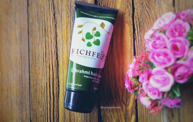 Richfeel Bramhi Hair Pack for Nourishing, Conditioning and Reducing Hair Fall : Review