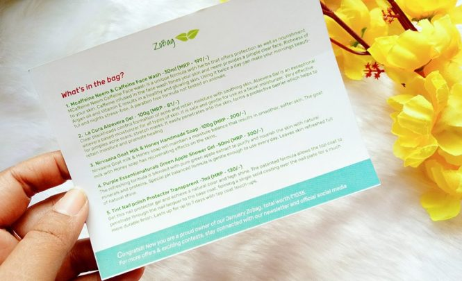 Zobag February Energize Naturally Unboxing and Review