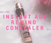 Maybelline Instant Age Rewind Concealer in Shade Medium Review, Swatch and Demo